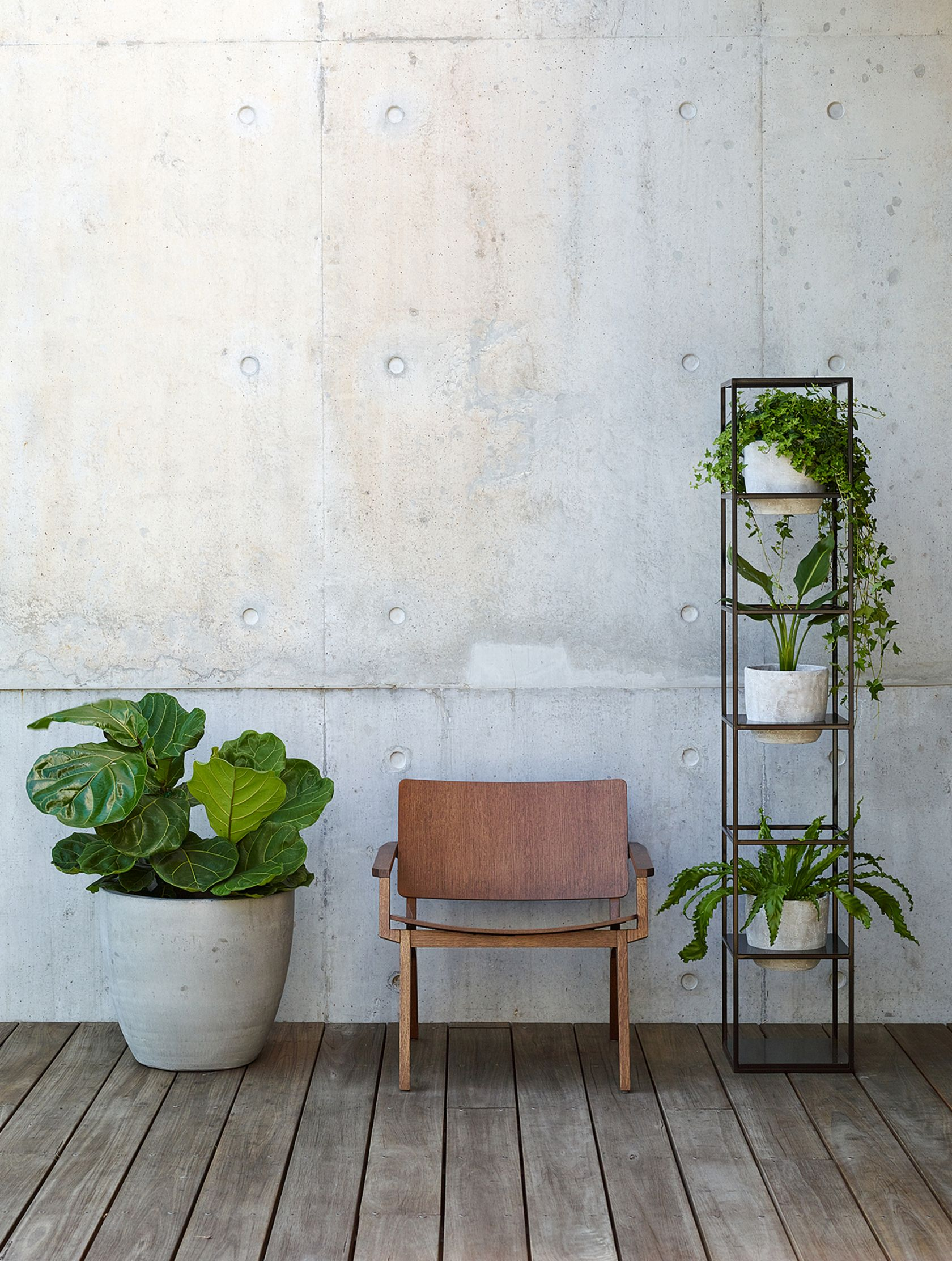 Maui Chair and Vertical Garden