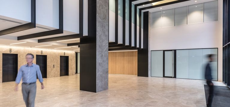 The Department of Environment, Water and Natural Resources (DEWNR) waymouth building refurbishment lobby upgrade adelaide