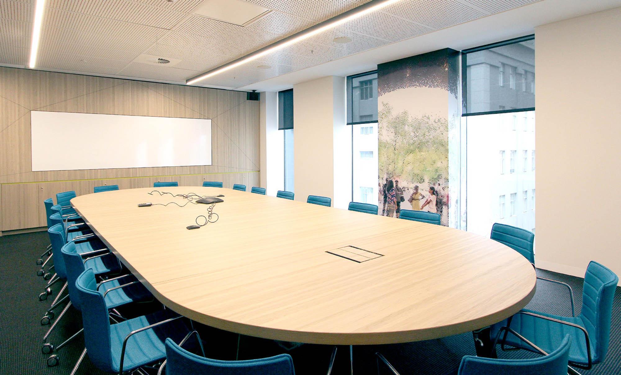 yarra trams melbourne office fitout boardroom