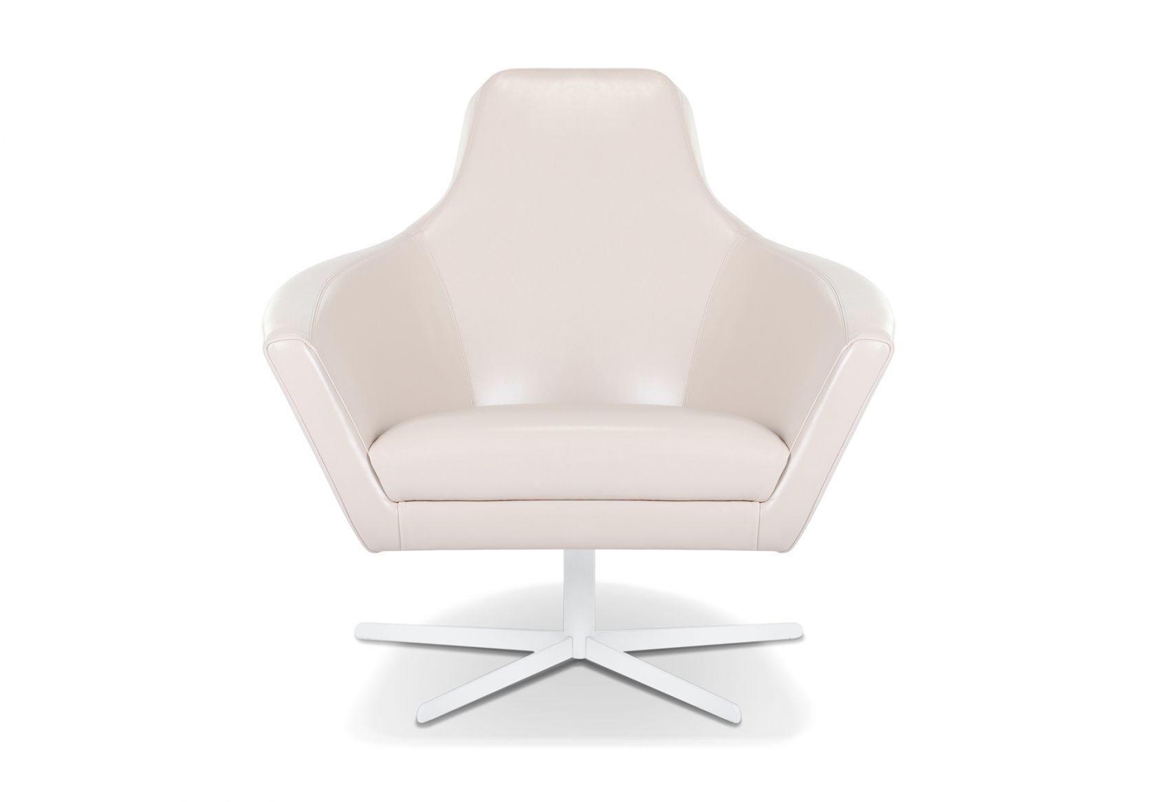 Paloma Chair cream leather