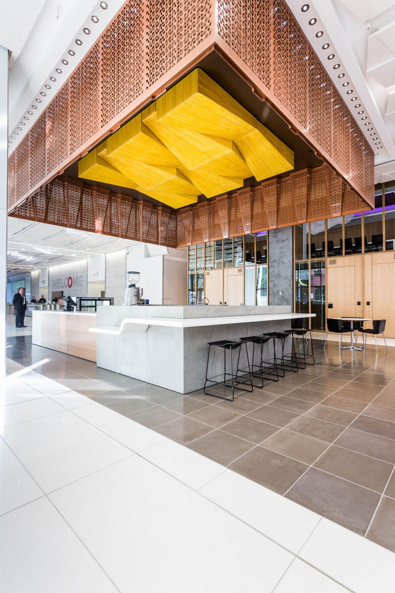 321 exhibition street melbourne refurbishment coffee shop