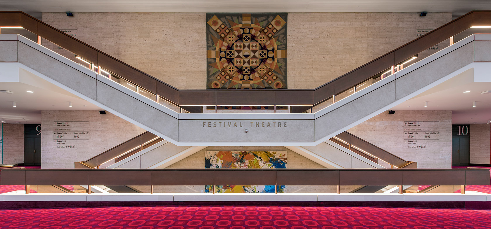 Adelaide festival centre building upgrade and heritage refurbishment