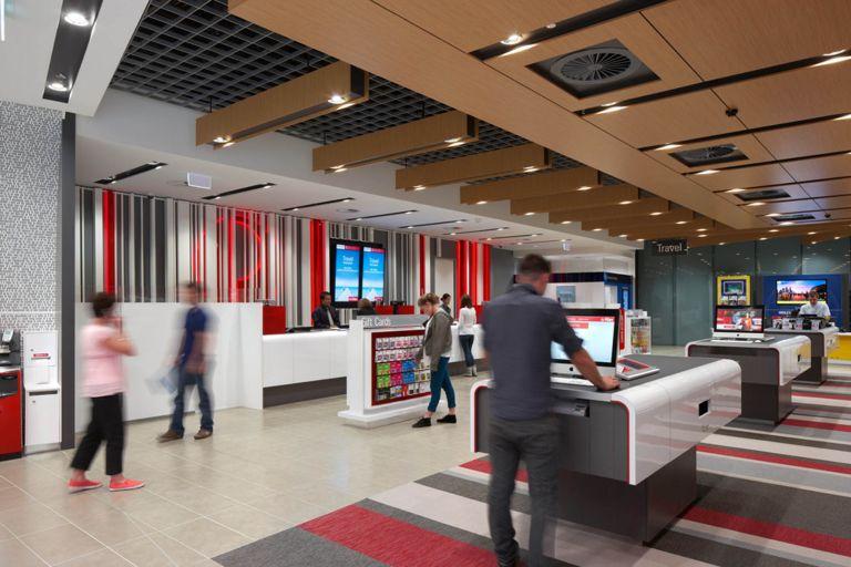 australia post melbourne retail store layout