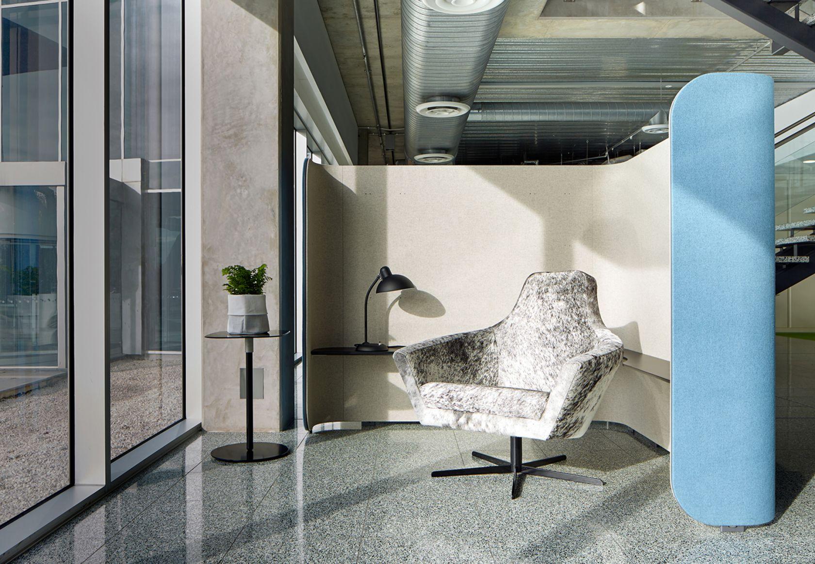 Paloma Chair, Focus Pod and OTM Table