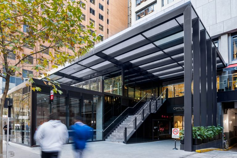 367 Collins Street Melbourne External Staircase Retail Precinct
