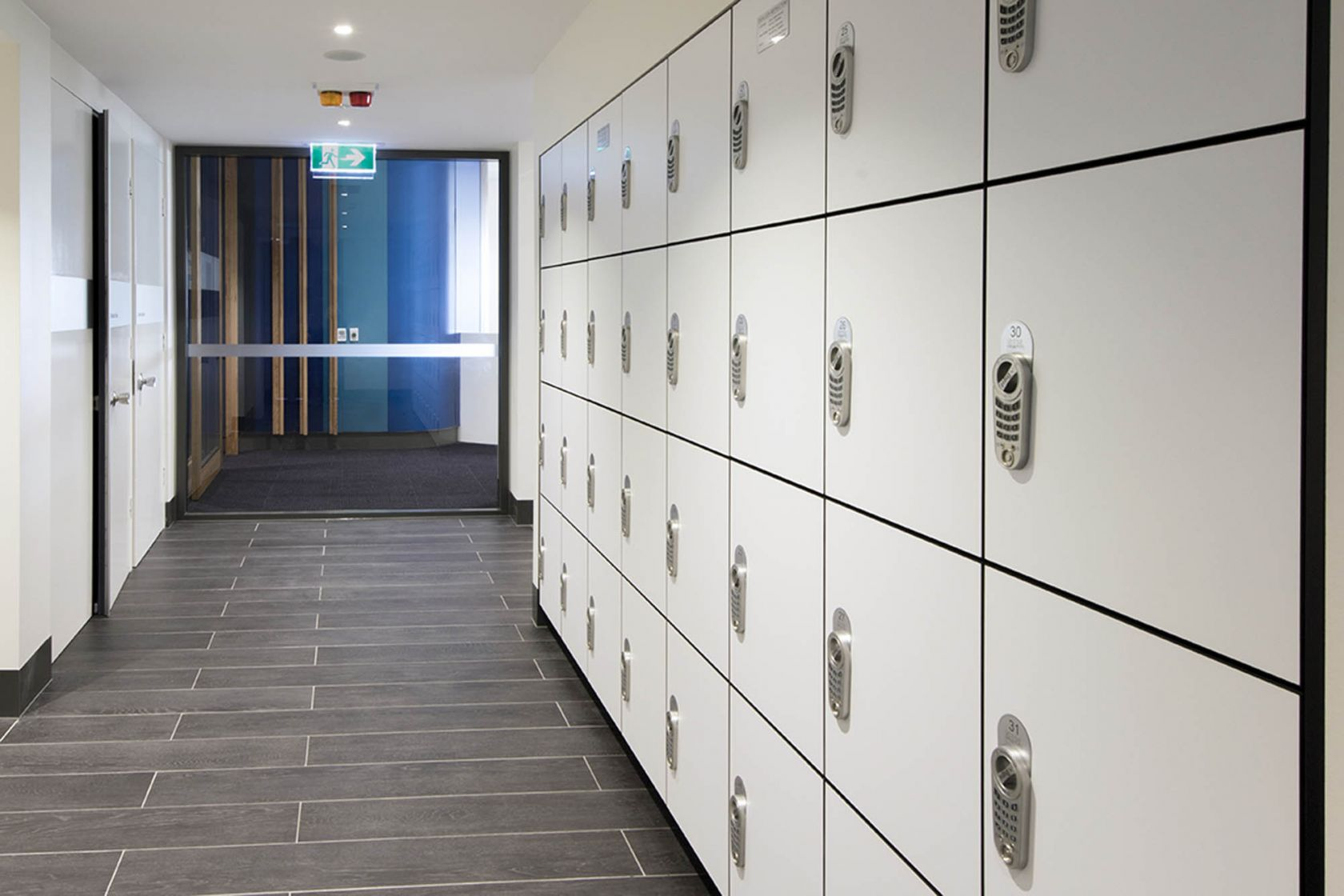 queensland university of technology executive centre brisbane education construction refurbishment lockers