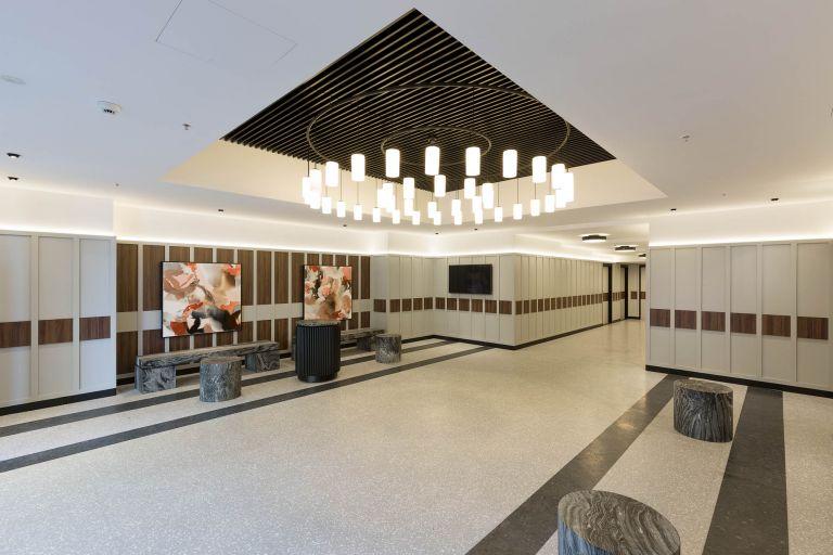 quay west lobby refurbishment