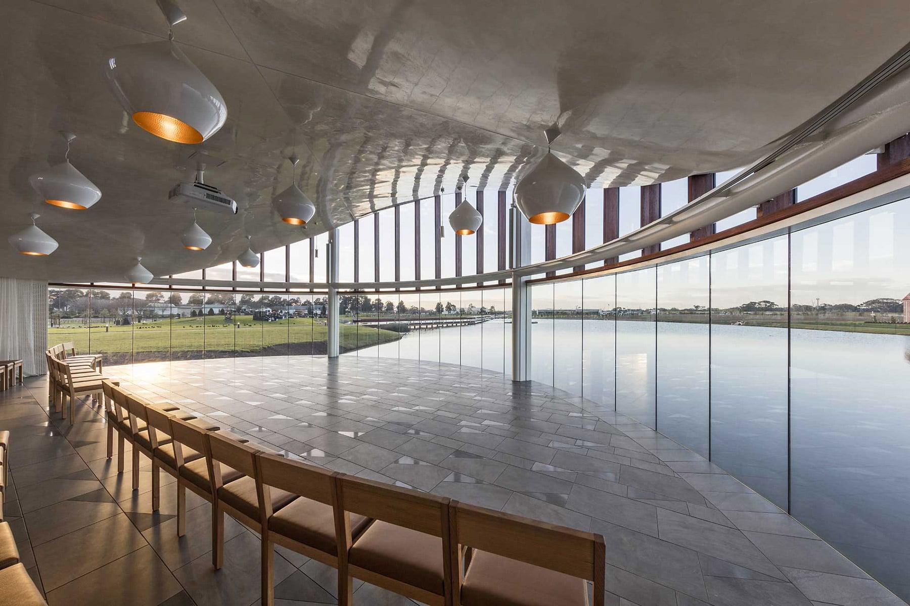 glassworks australia dandenong panel glass in building