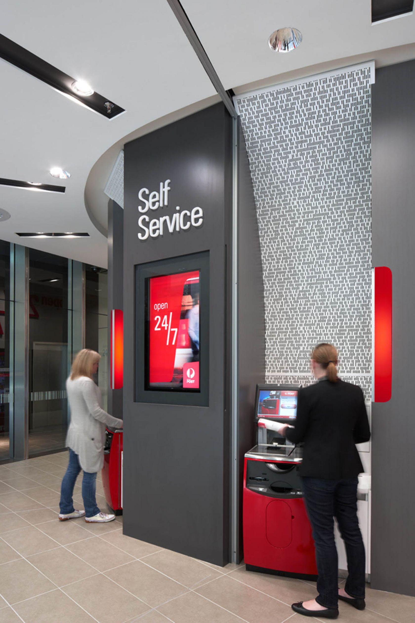 australia post melbourne retail store self service portal