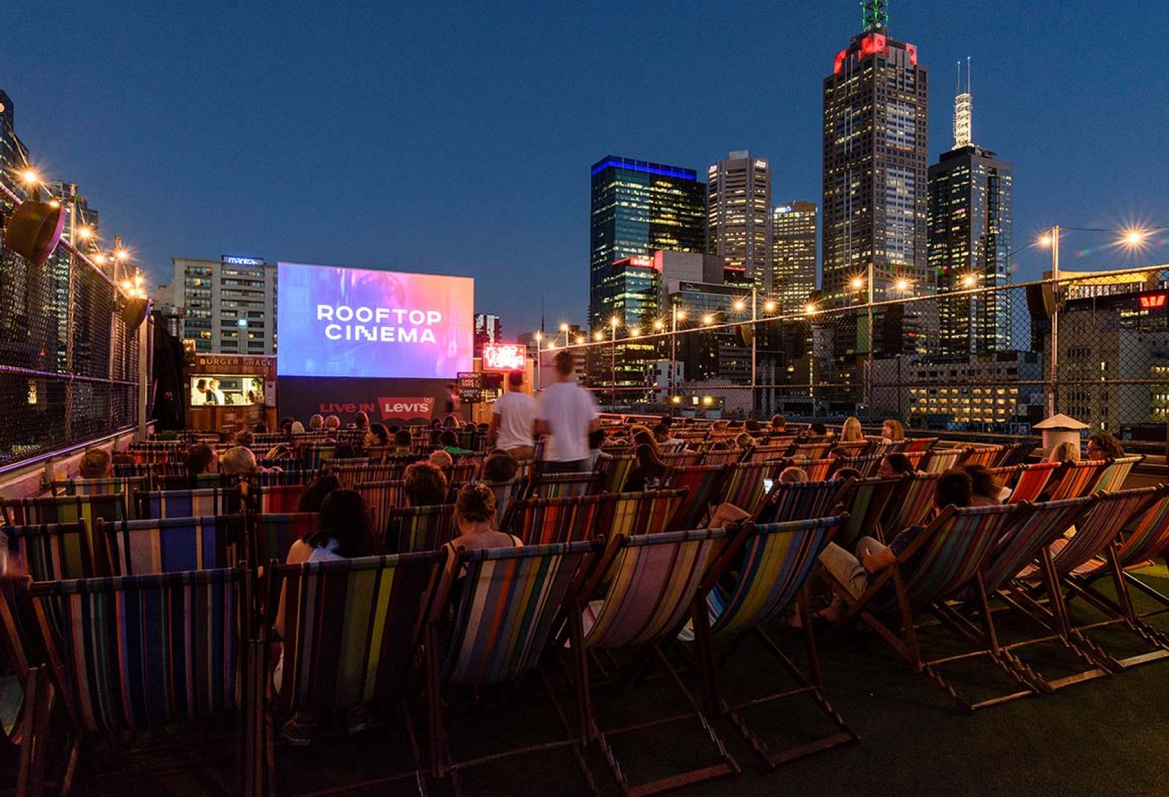 construction begins at rooftop cinema and bar melbourne
