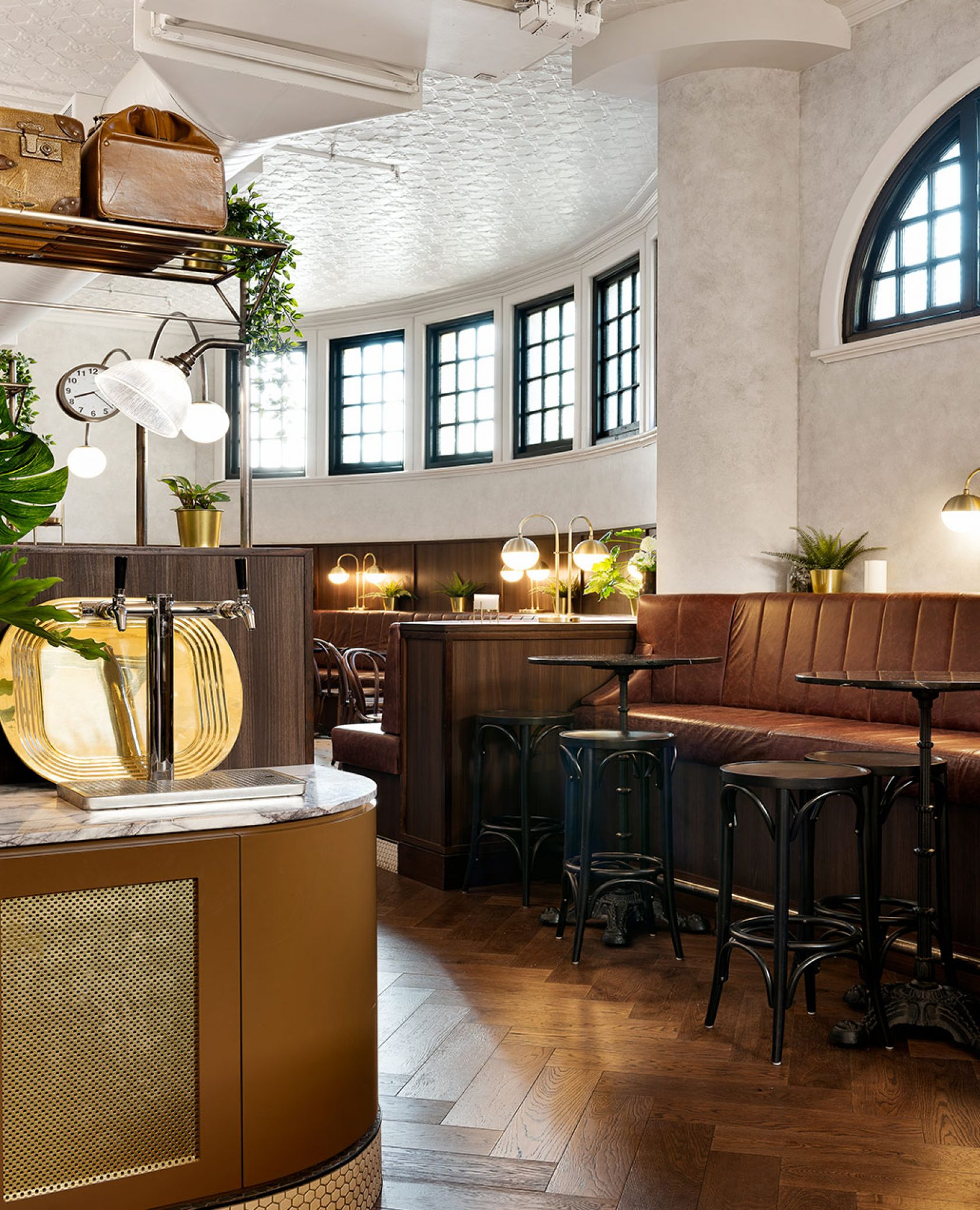 schiavello construction clocks bar heritage