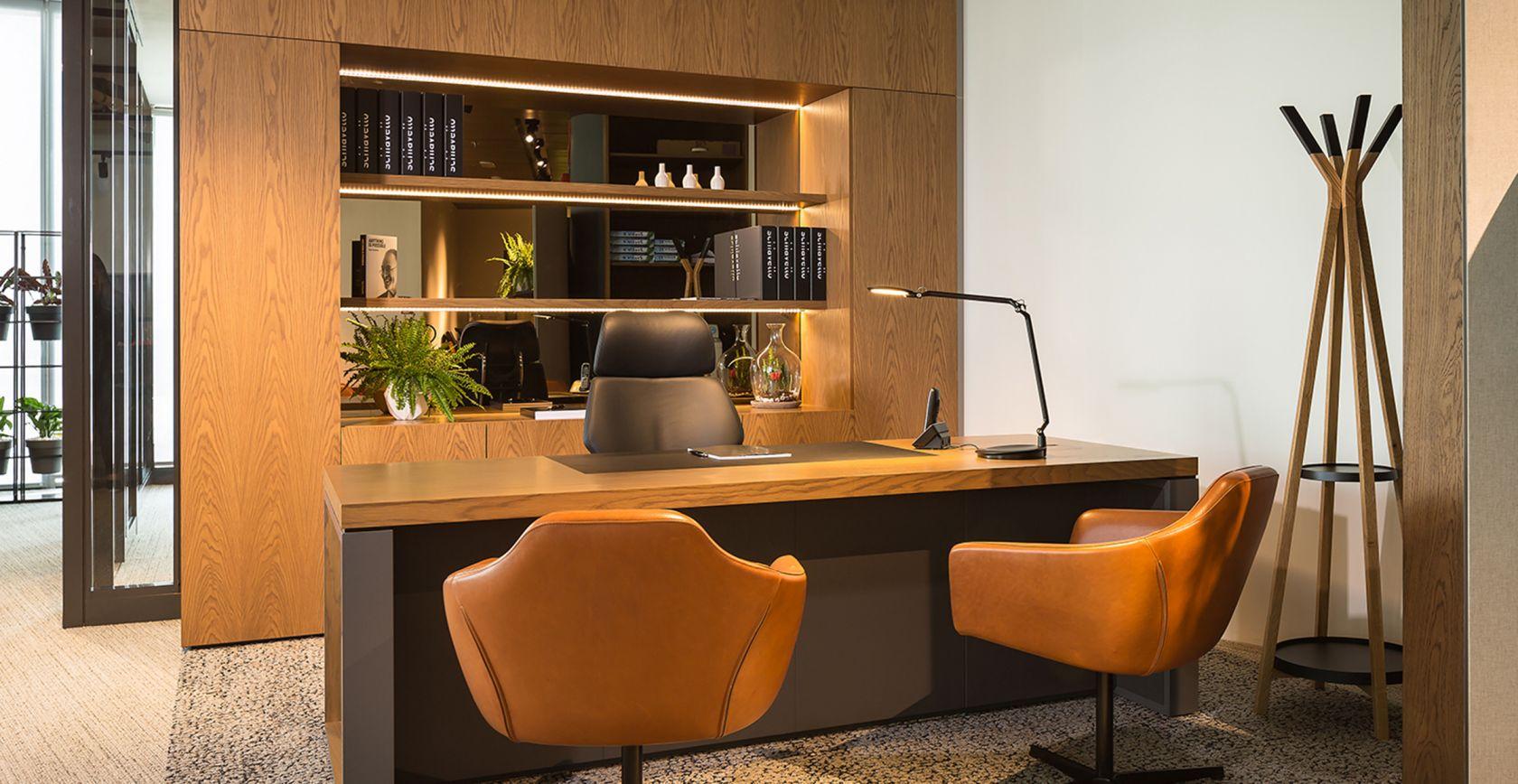 Linear Executive Desk