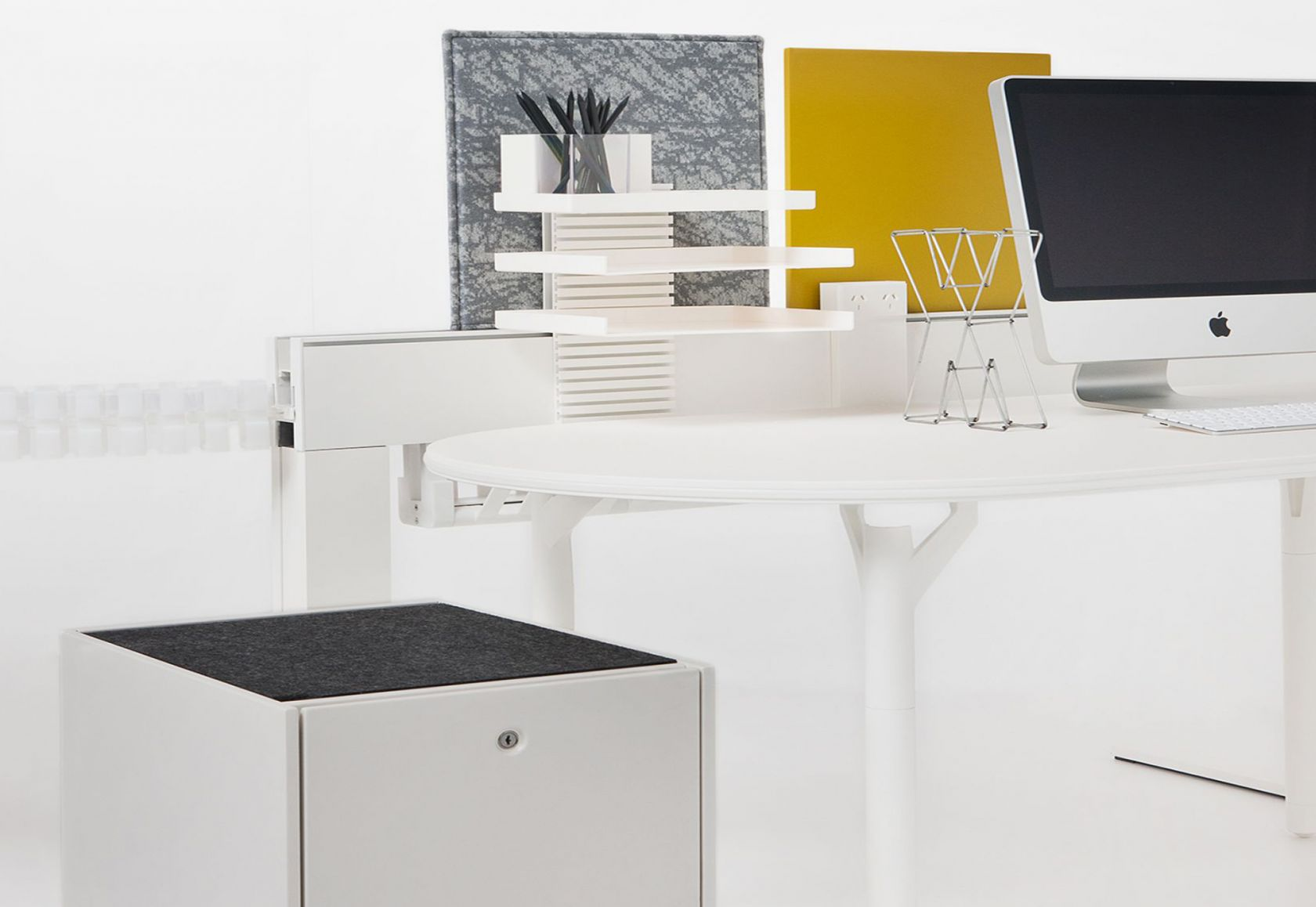 Climate Storage, workstation and accessories