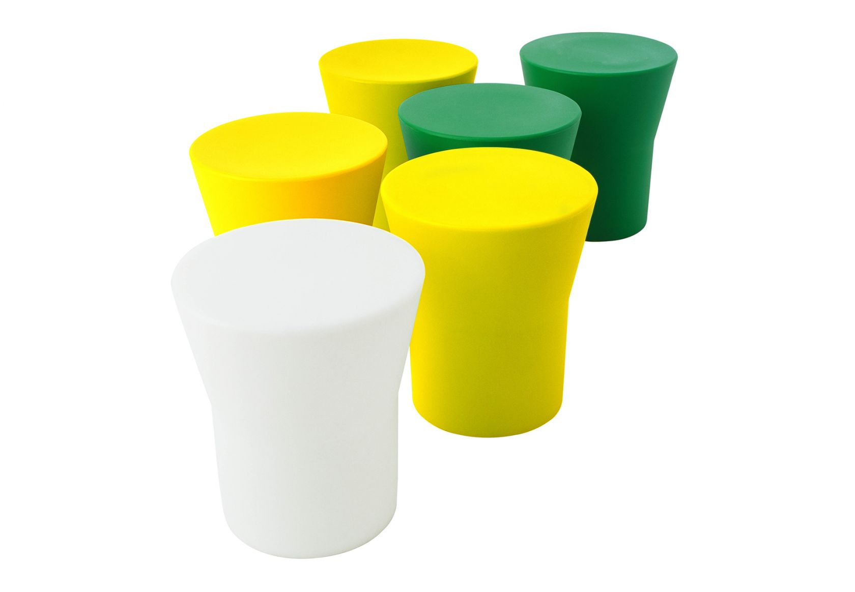 Tom Stool green and yellow