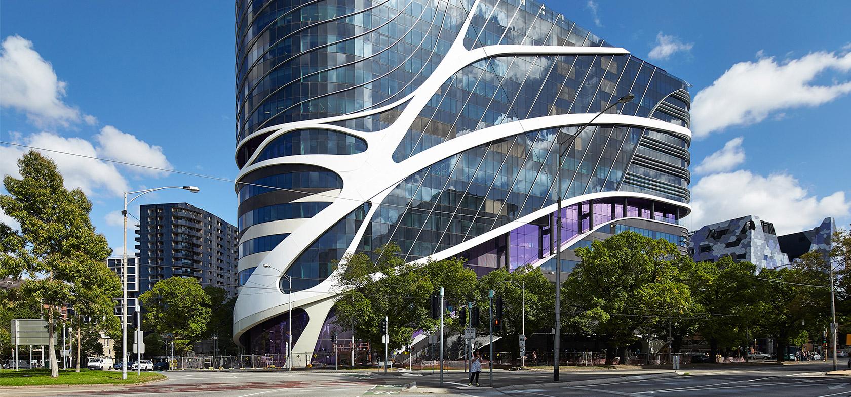 Victorian Comprehensive Cancer Centre (VCCC) Melbourne External Buidling