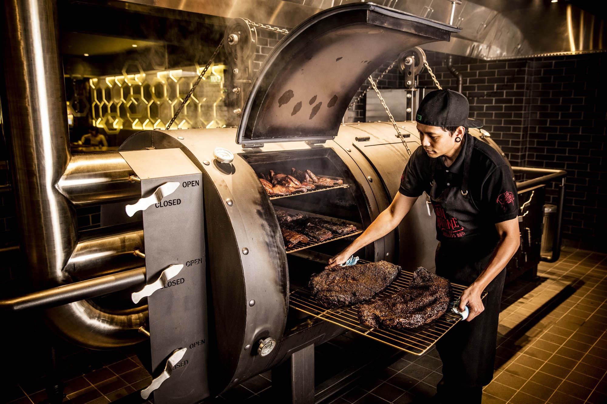 san antone melbourne smoker bbq food kitchen