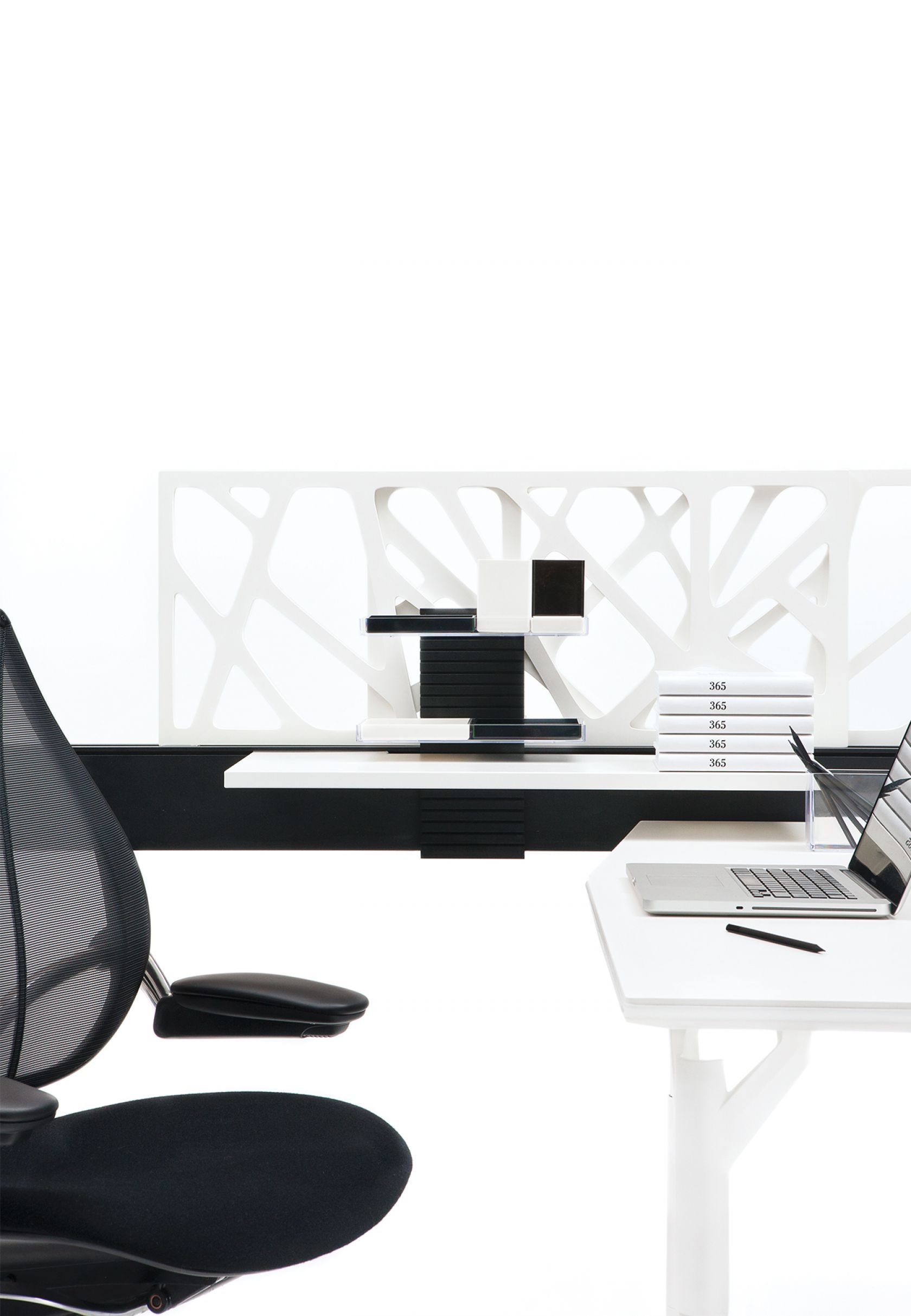 Climate Workstation, Diffrient World Task Chair and Lava Marker