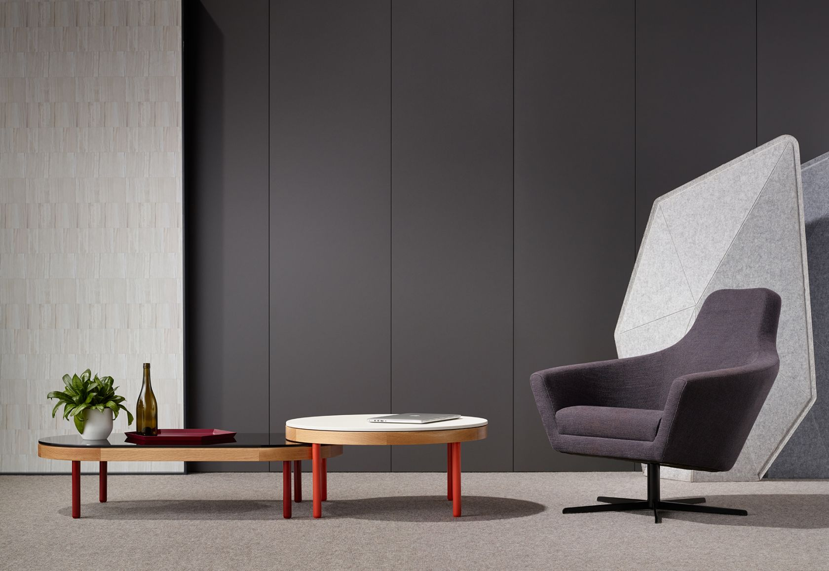 Goodwood Table, Paloma Chair and Soft Boundary