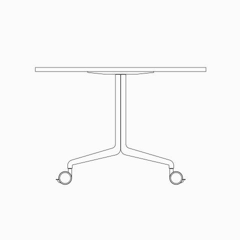 2D Aire Fold CAD Model