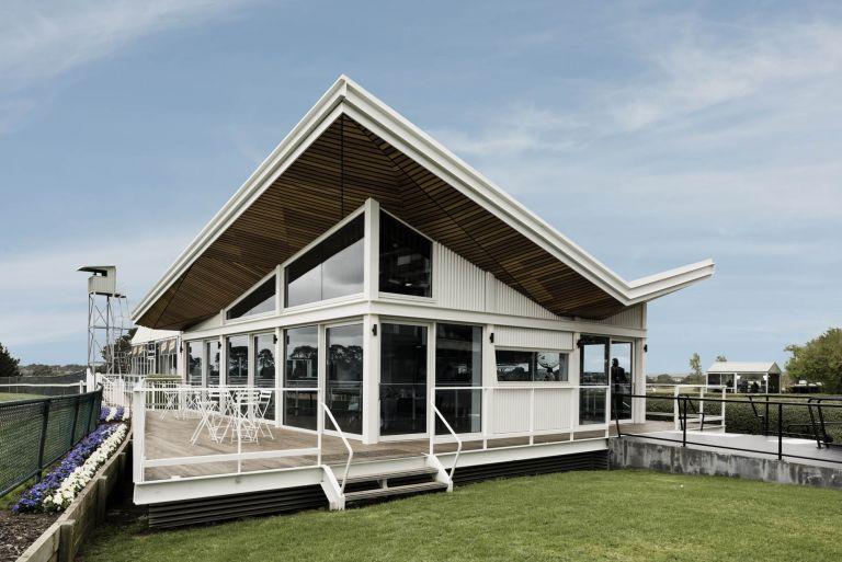 mornington racecourse melbourne fitout construction external structure