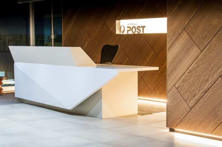 australia post adelaide fitout reception