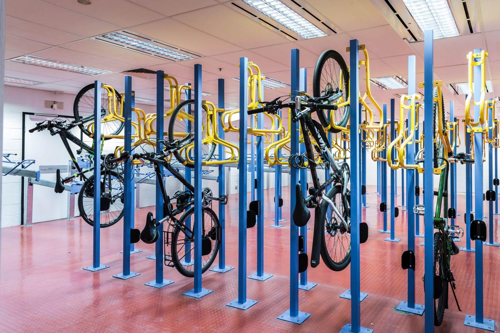 dewnr adelaide fitout bike rack