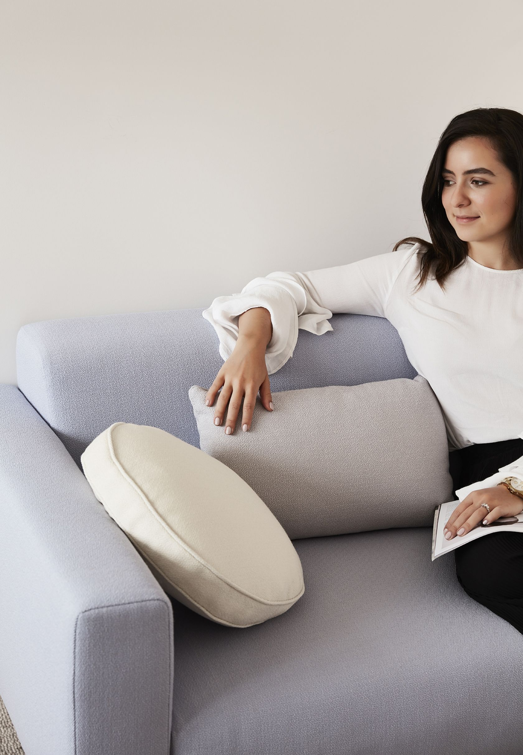 Elfin Sofa and Scatter Platter Cushions