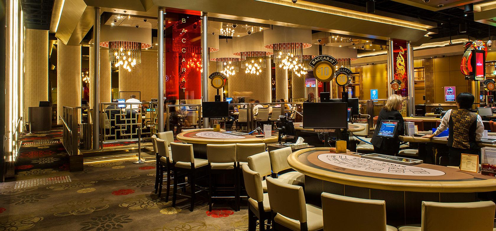 SKYCITY Adelaide Casino Baccarat Gaming Room