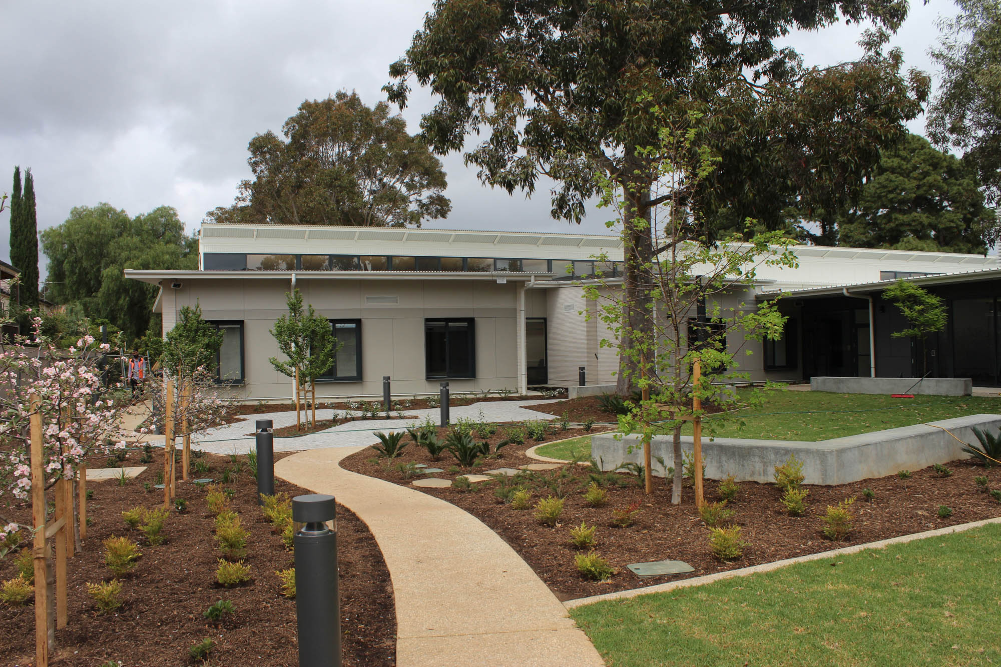 Jamie Larcombe Centre Adelaide Mental Health Facility Garden