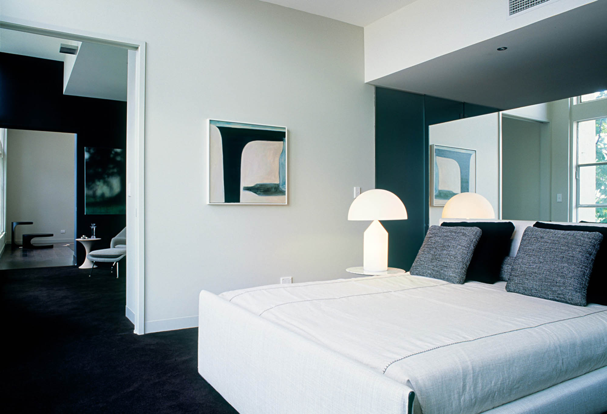 herald living apartments melbourne residential fitout bedroom