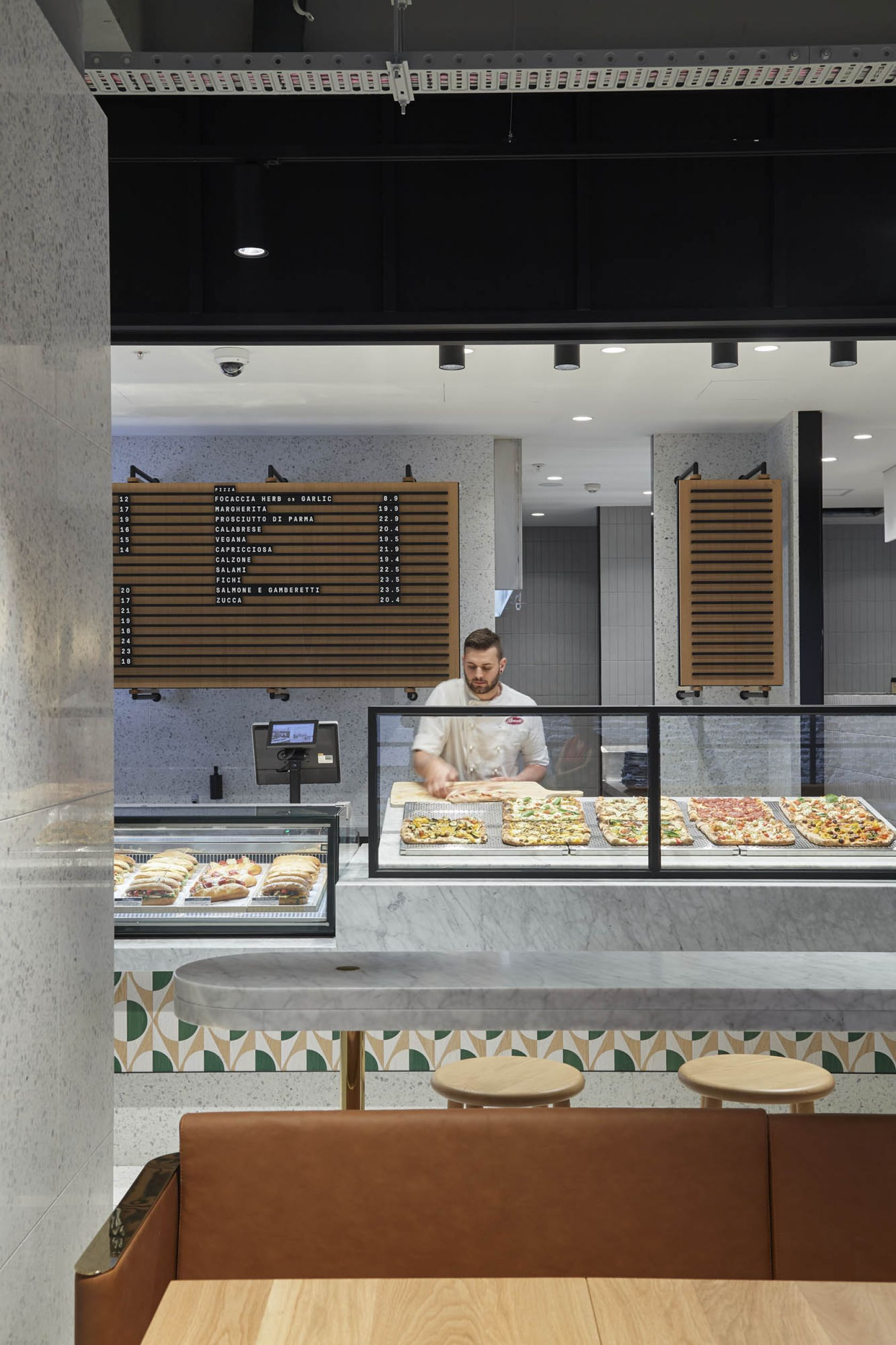 brunetti cafe emporium flinders lane hospitality demolition interior construction vic pizza making chef gourmet