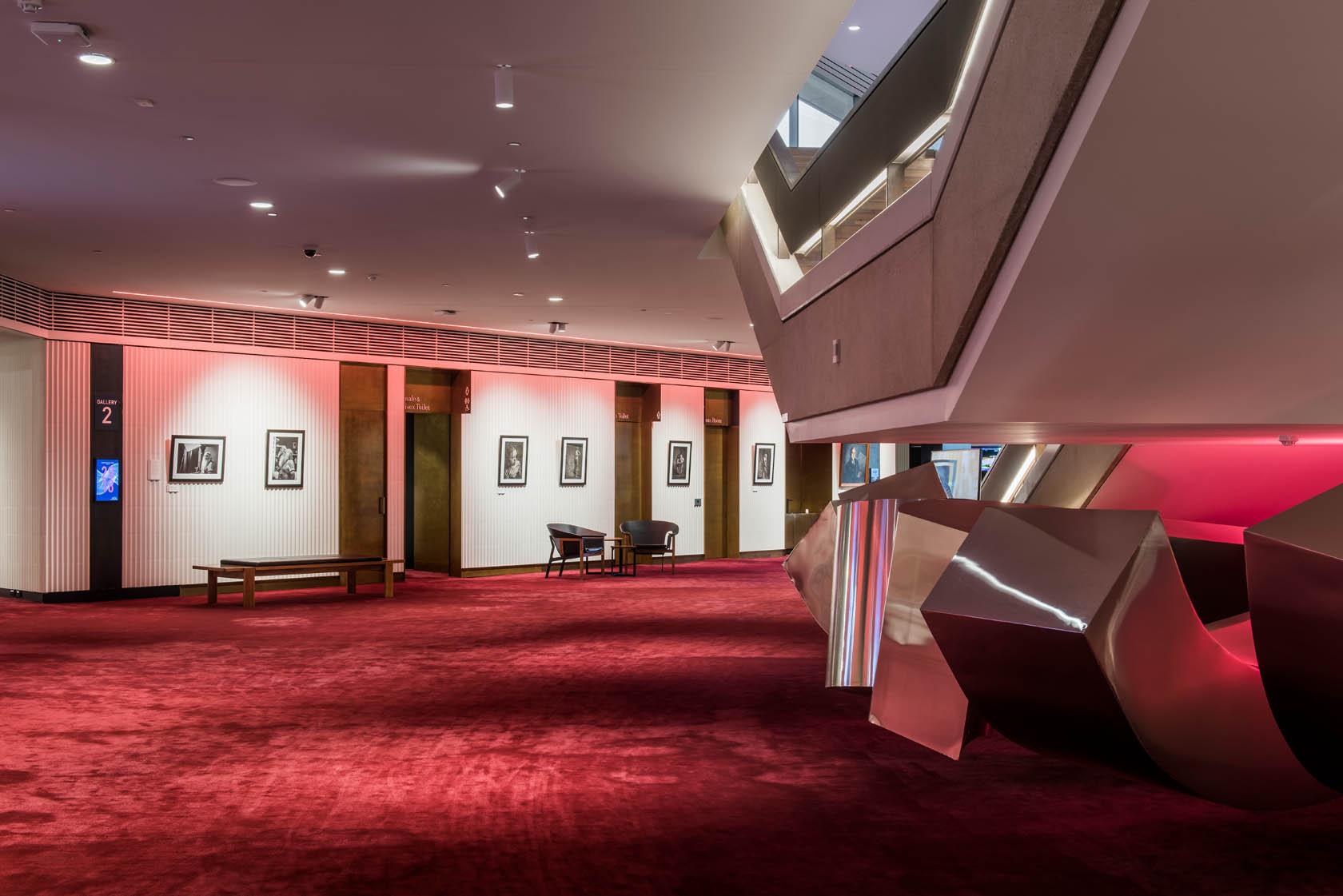 Adelaide Festival Centre Heritage Refurbishment Lobby