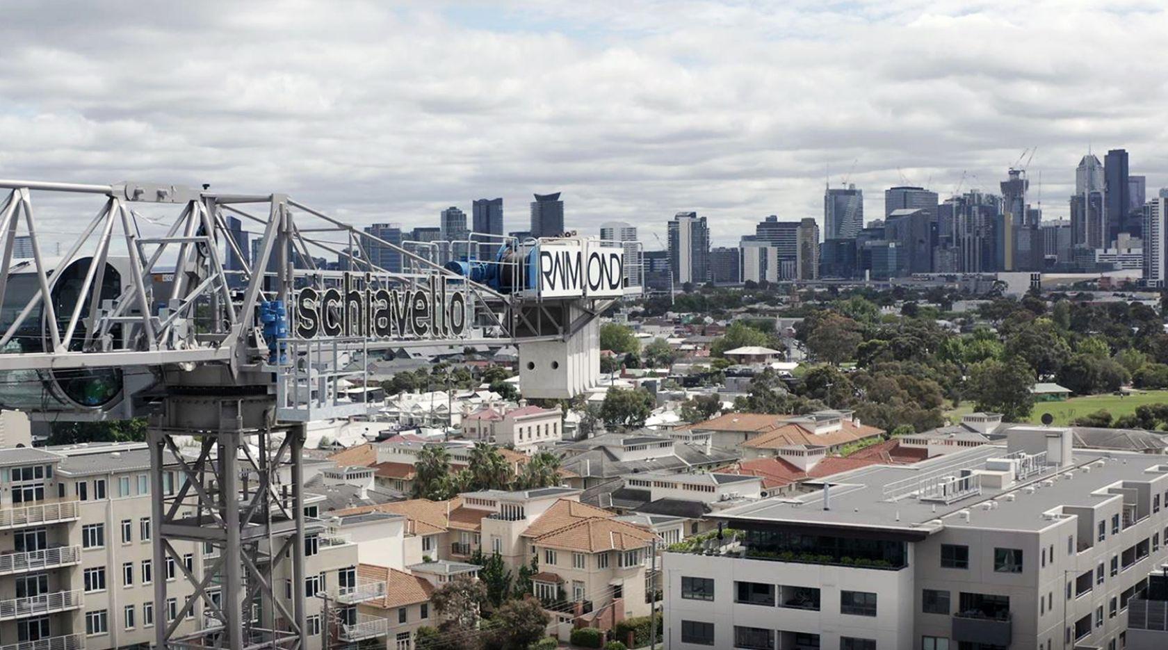 schiavello construction client community support local supplier australia
