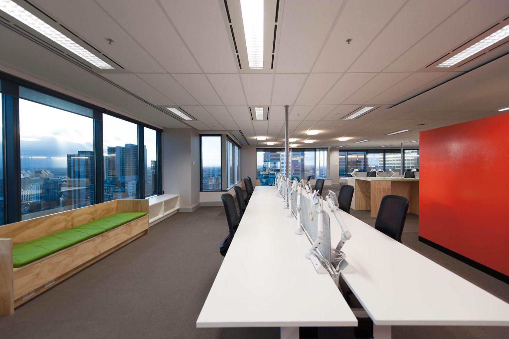 530 collins street melbourne building upgrade make good workplace office