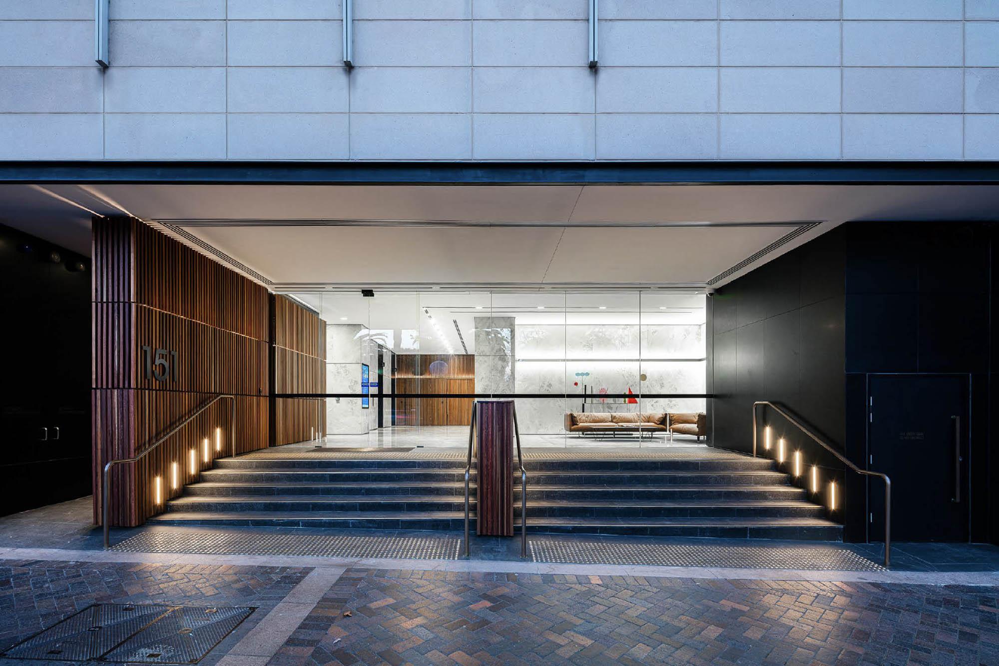 151 Macquarie Street interior construction asset refurbishment facade exterior building Sydney