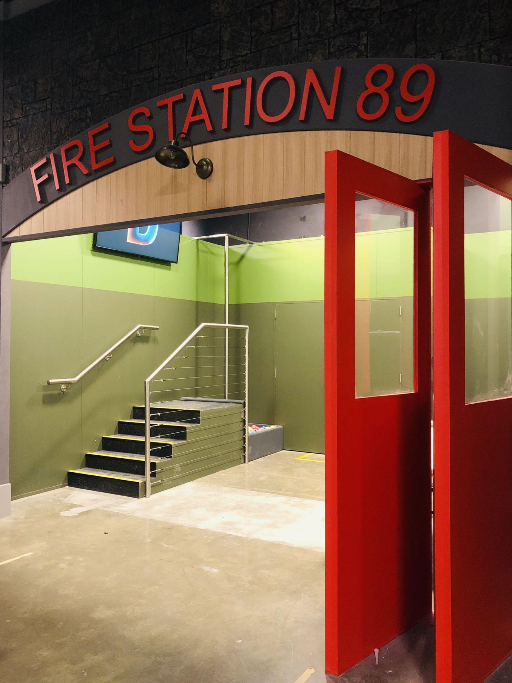 dreamcity south wharf fire station