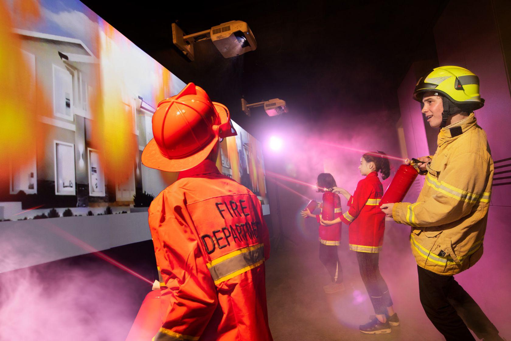 dreamcity melbourne edutainment firefighters