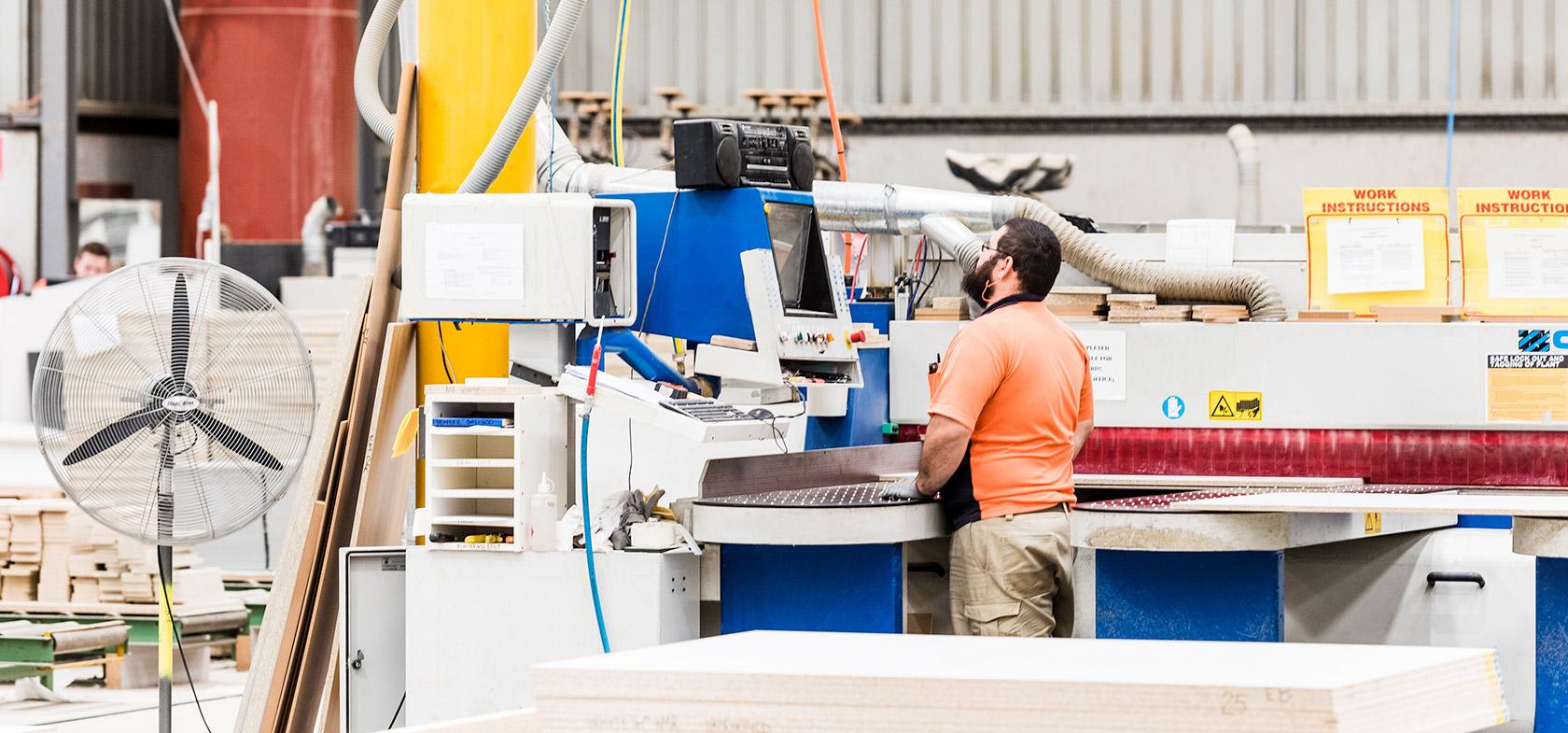 inside schiavello manufacturing facility tullamarine melbourne