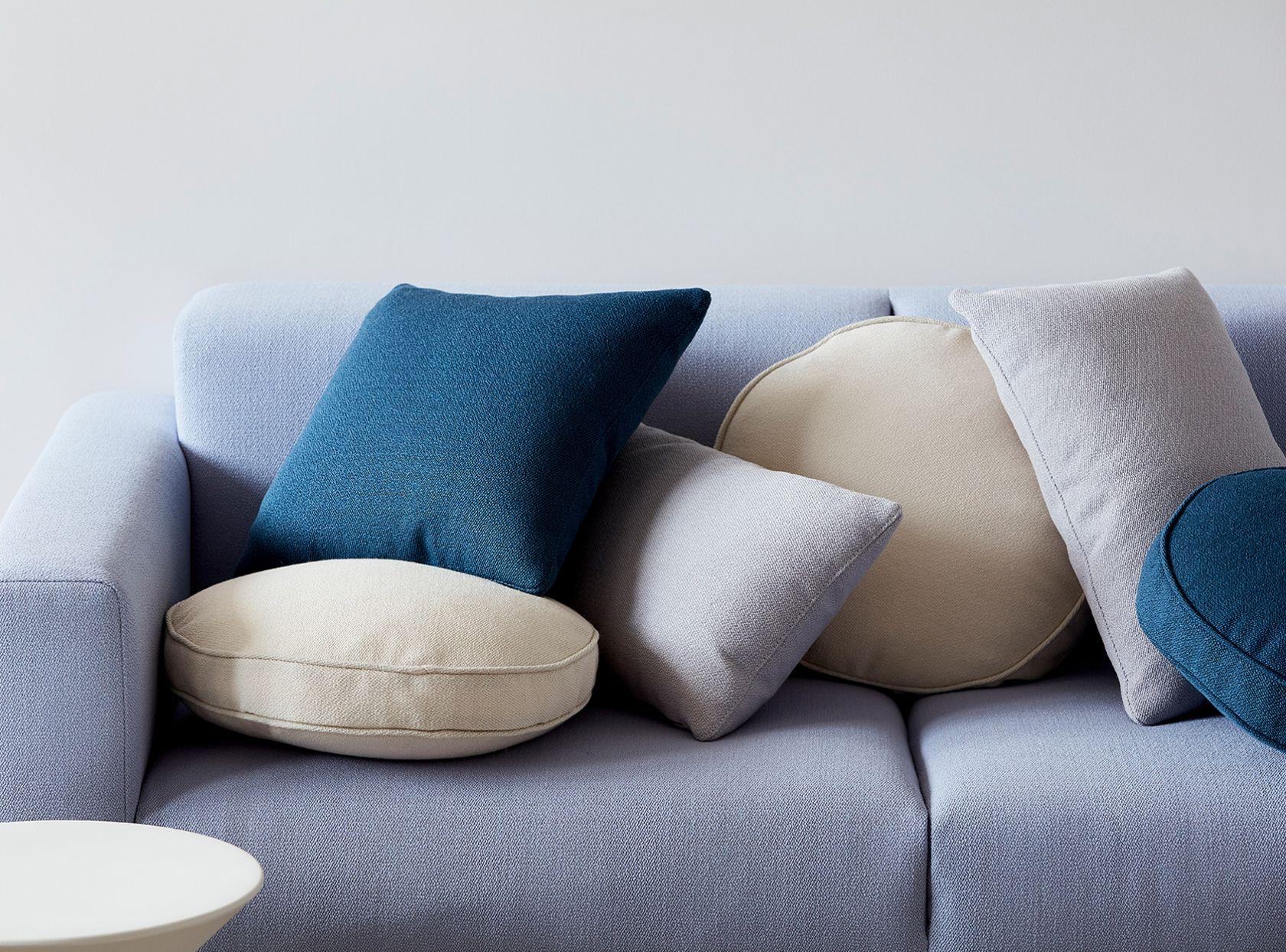 schiavello accessories scatter cushions on blue elfin sofa