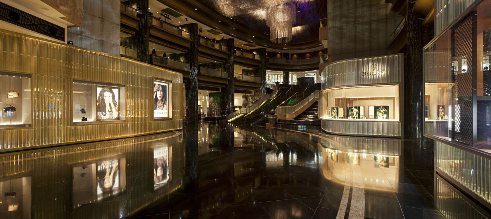 crown casino melbourne atrium entrance