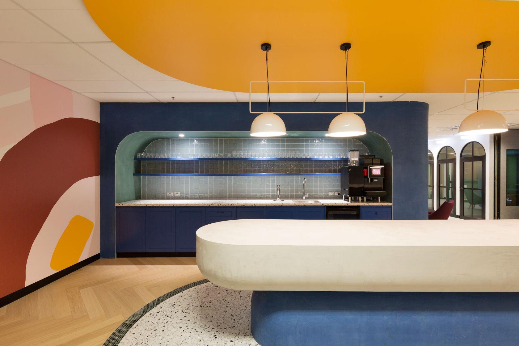 microsoft technology centre sydney kitchen