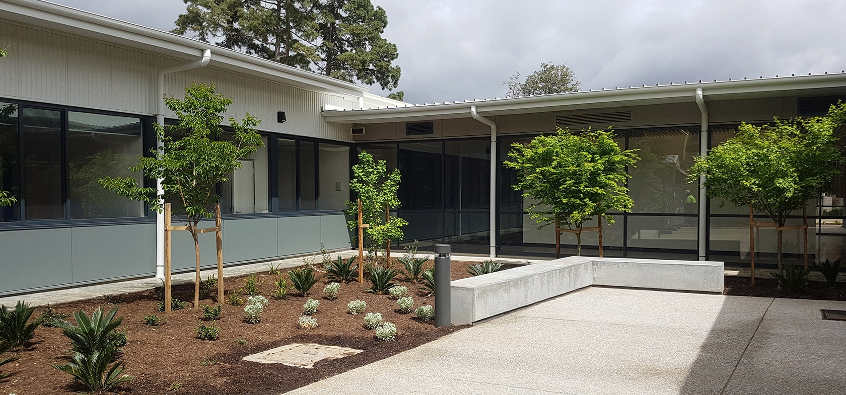 The Jamie Larcombe Centre External Veterans Mental Health Precinct