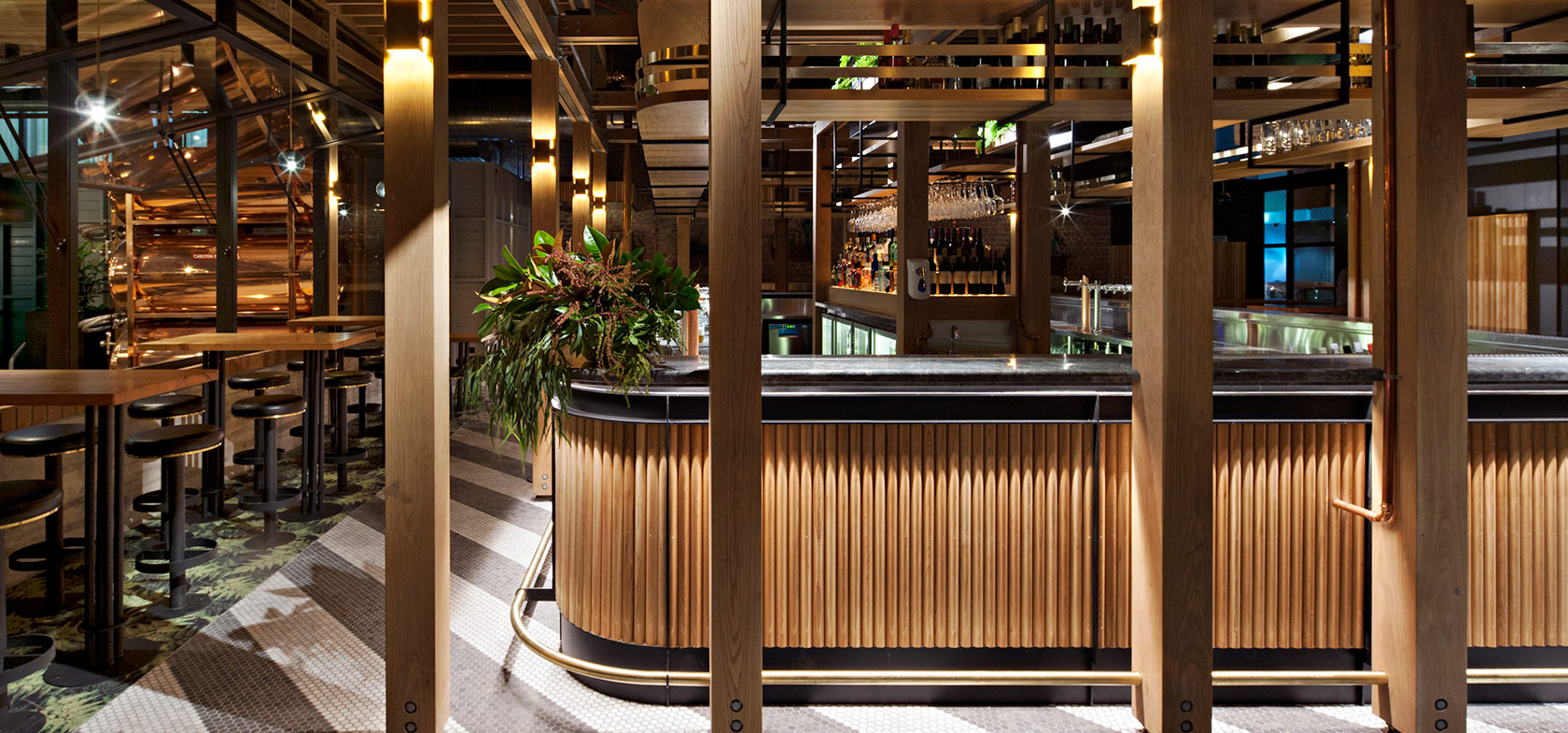 Garden State Hotel Timber Joinery Bar Hospitality Fitout Melbourne