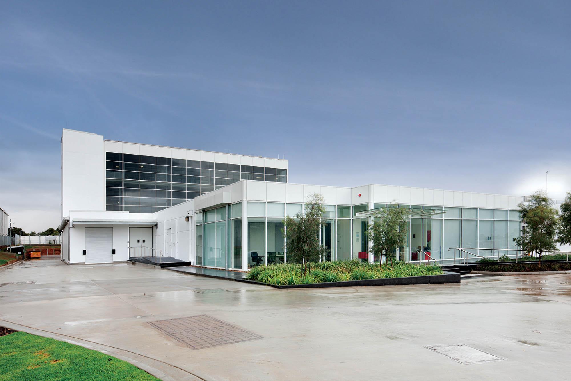 fujitsu vic construction fitout facility exterior