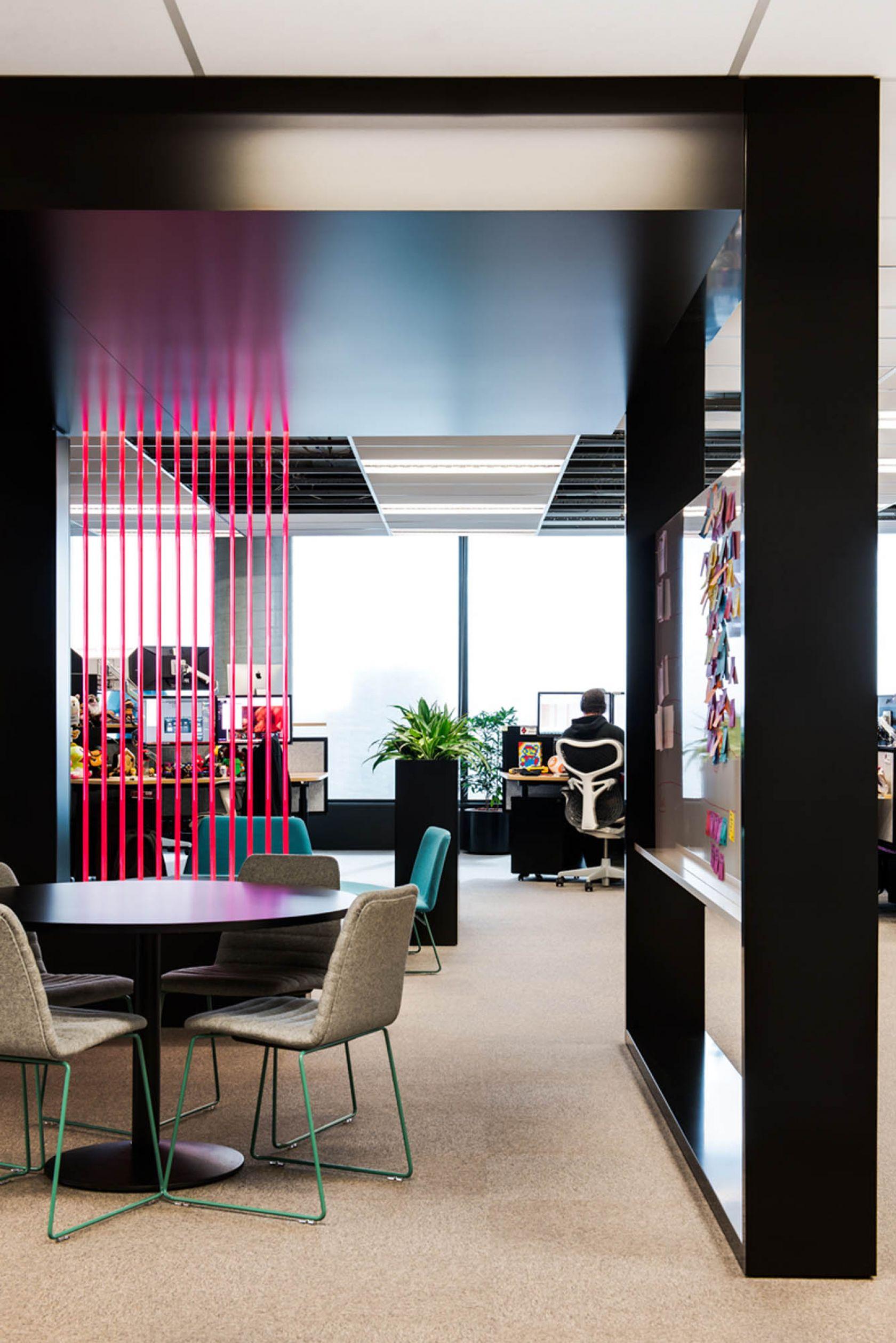bourke st melbourne office fitout desks