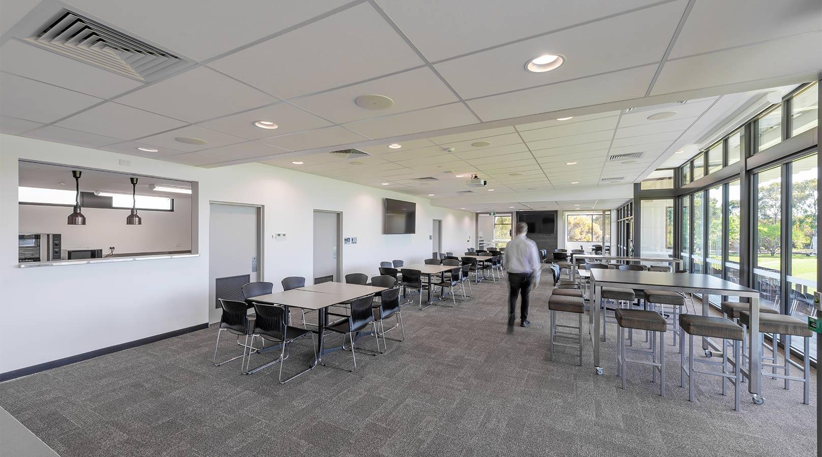 schiavello construction adelaide goodwood oval sport stadium football cricket cafeteria