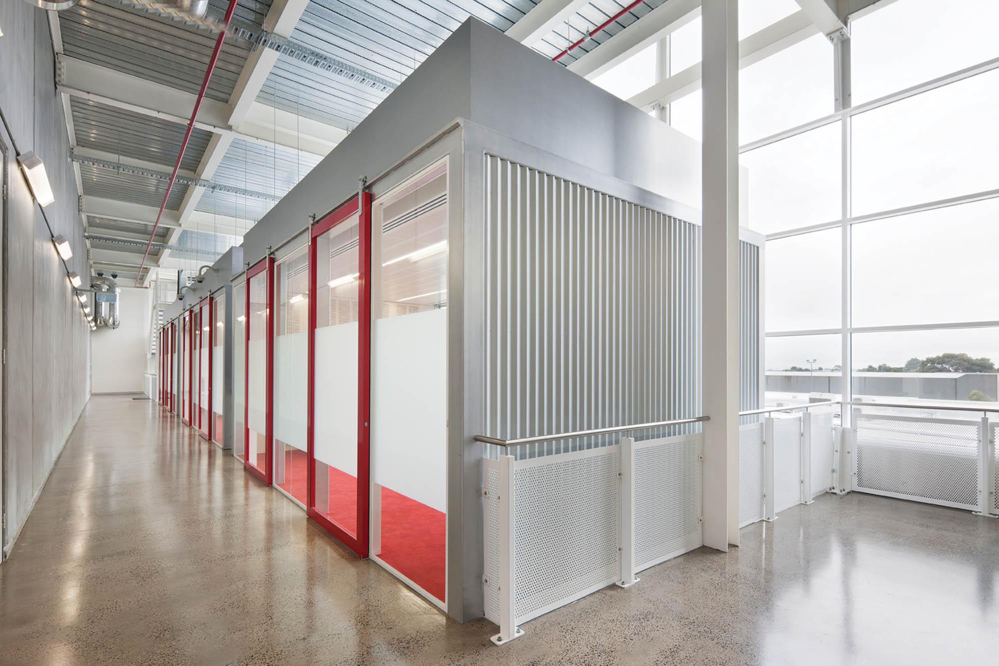 fujitsu vic construction fitout facility room