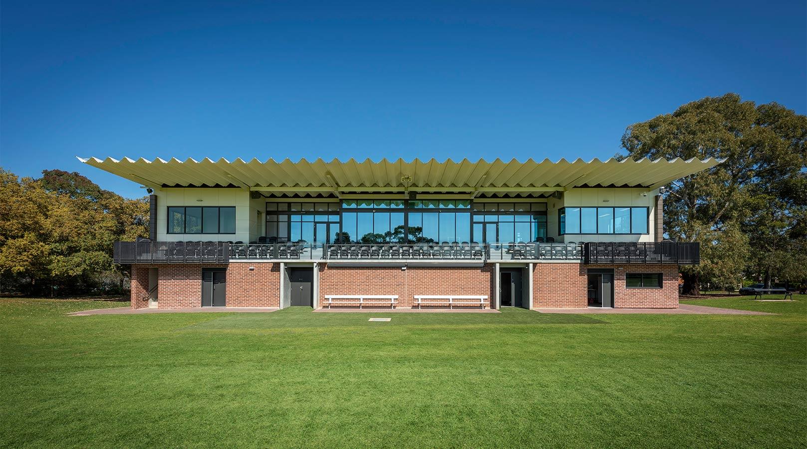 schiavello construction adelaide goodwood oval sport stadium football cricket grandstand exterior