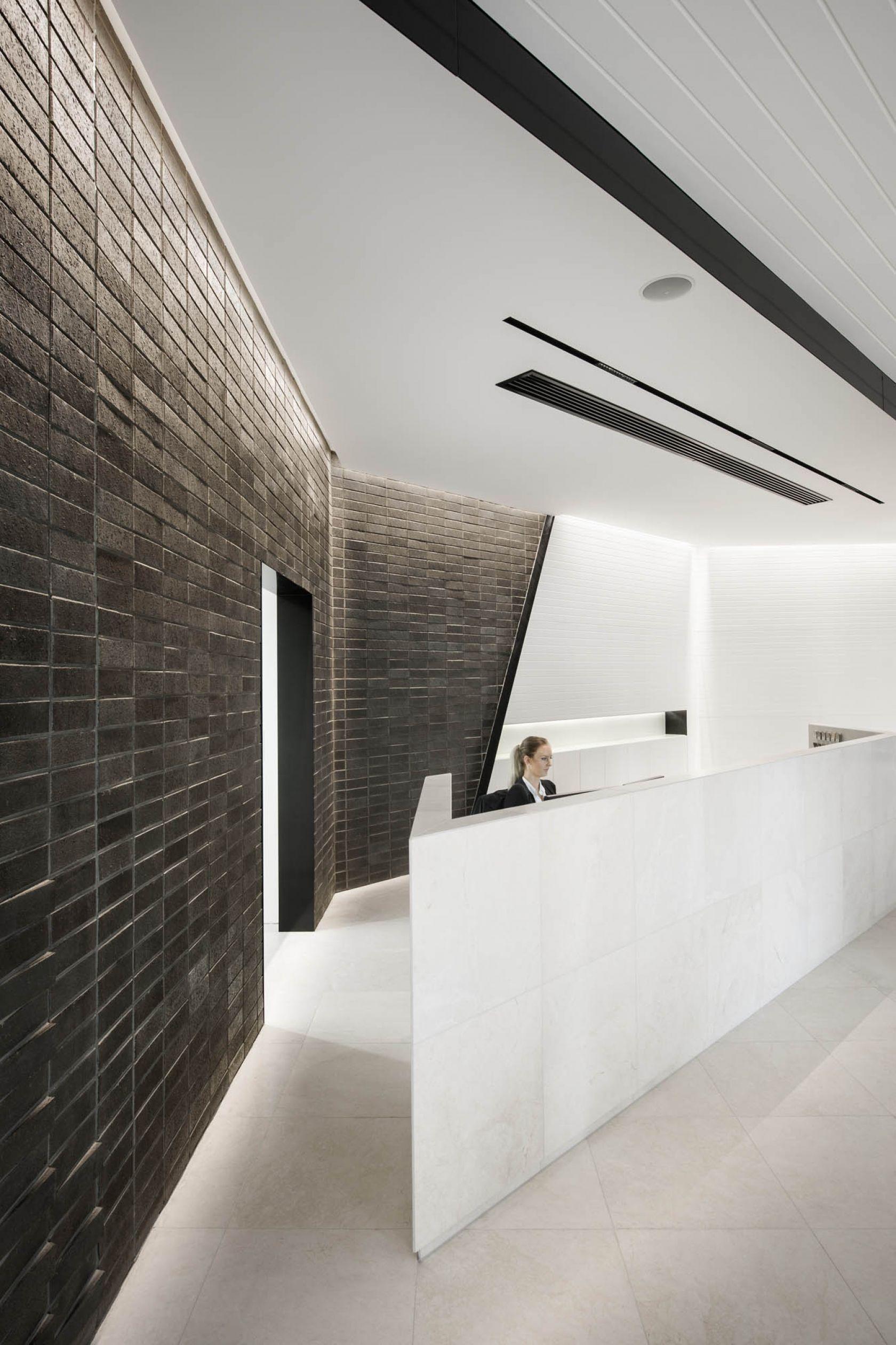 brickworks design austral brick studio adelaide fitout construction reception bricks stone