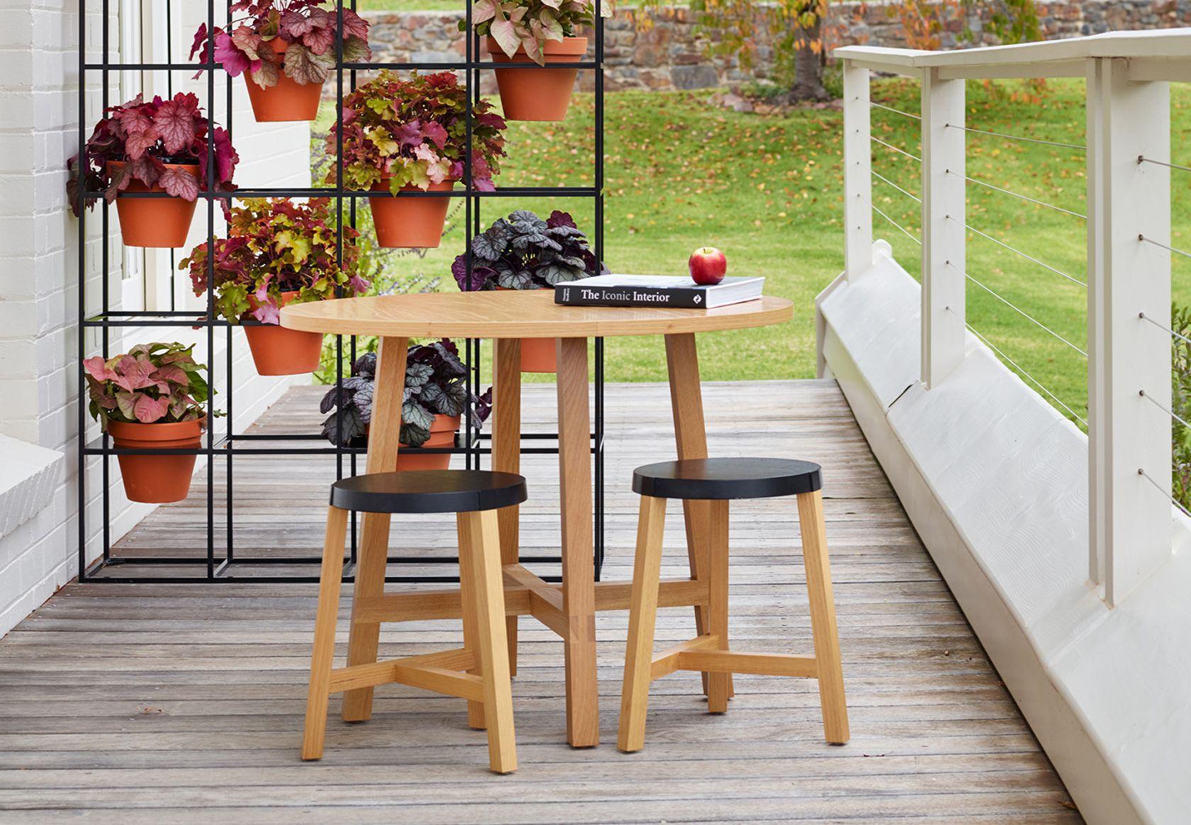 Toro Stool, Toro Table and Vertical Garden